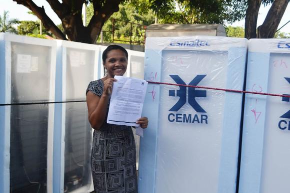 Grajaú recebe Caravana da Economia para troca de geladeiras