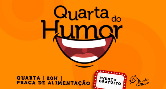 Quarta do Humor no Shopping da Ilha