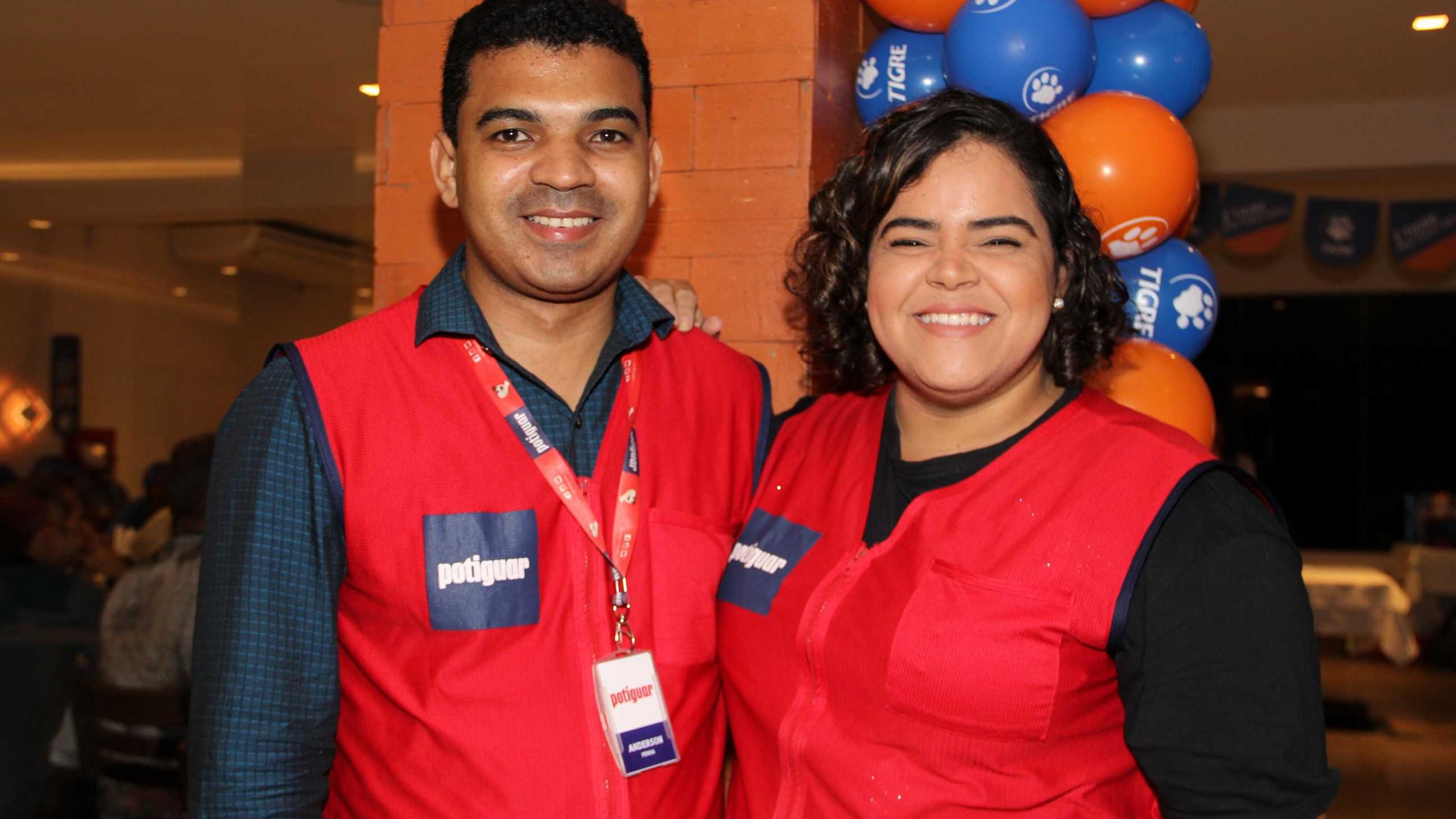 Anderson Penha e Thaylana Souza (Potiguar).