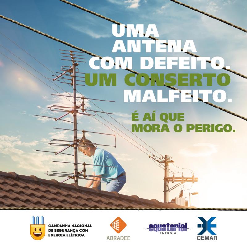 Cuidados com instalação de antenas