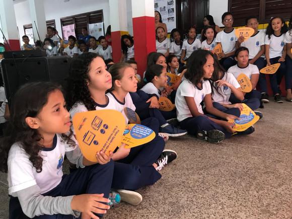 Escolas de São Luís recebem a Caravana da TV Digital