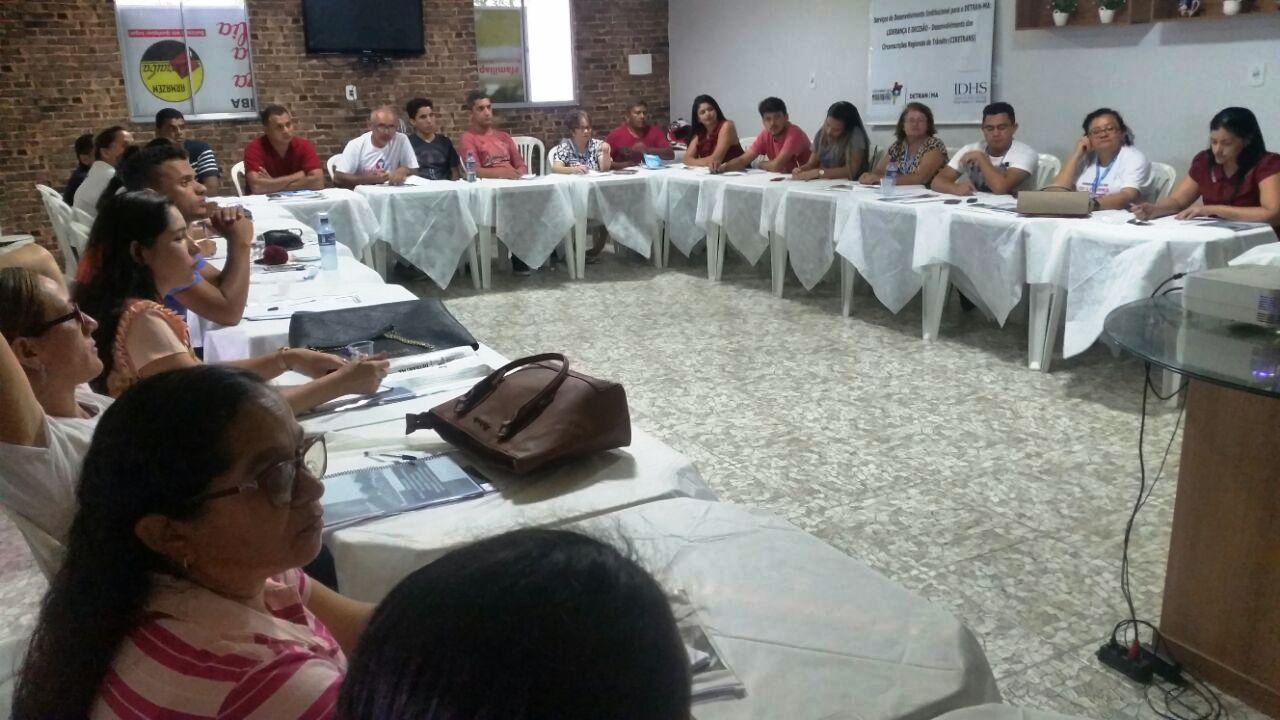 Capacitação realizada com servidores do Detran em Chapadinha. (Foto: Divulgação)