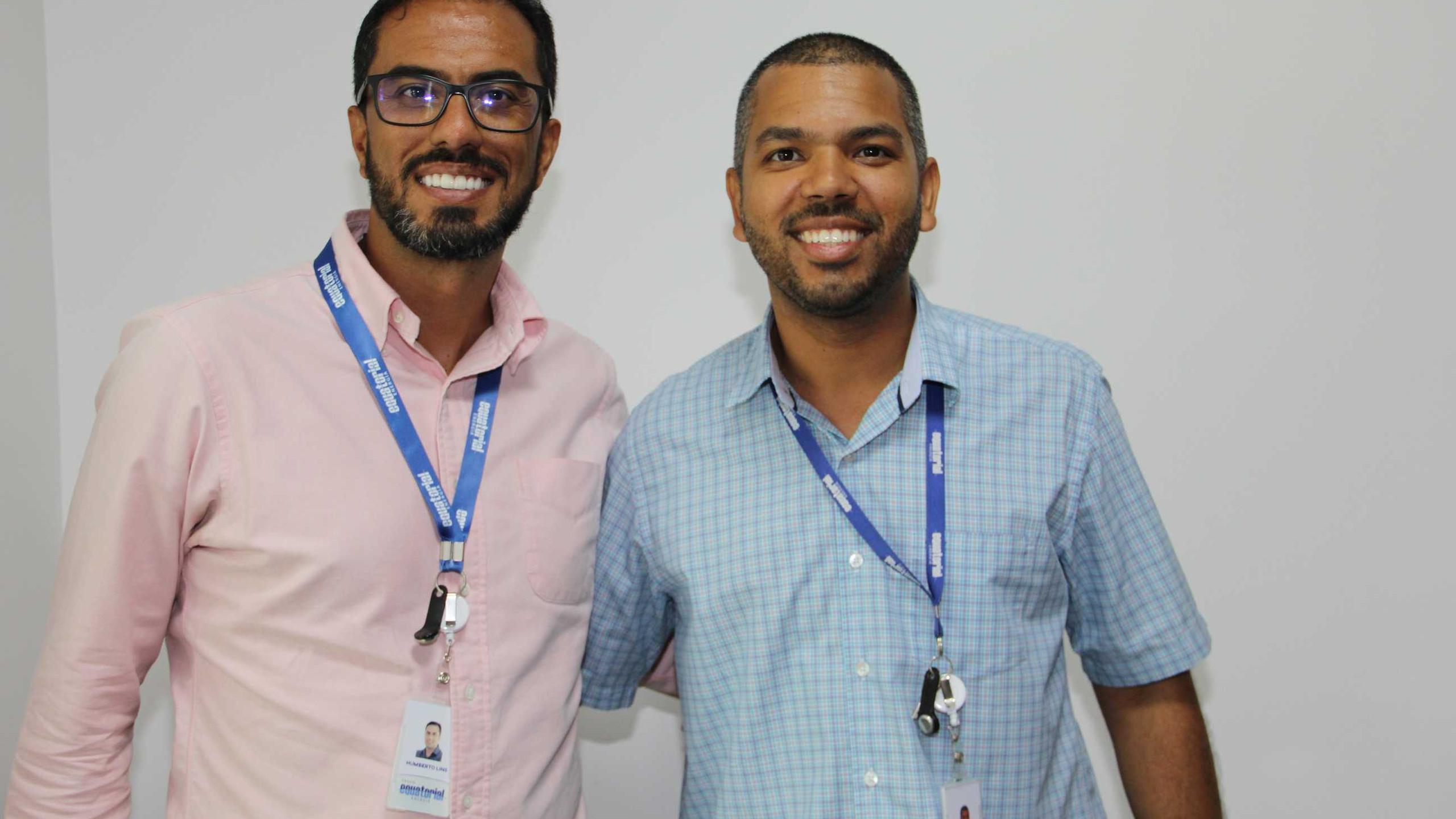 Humberto Lins e Laércio Carneiro.