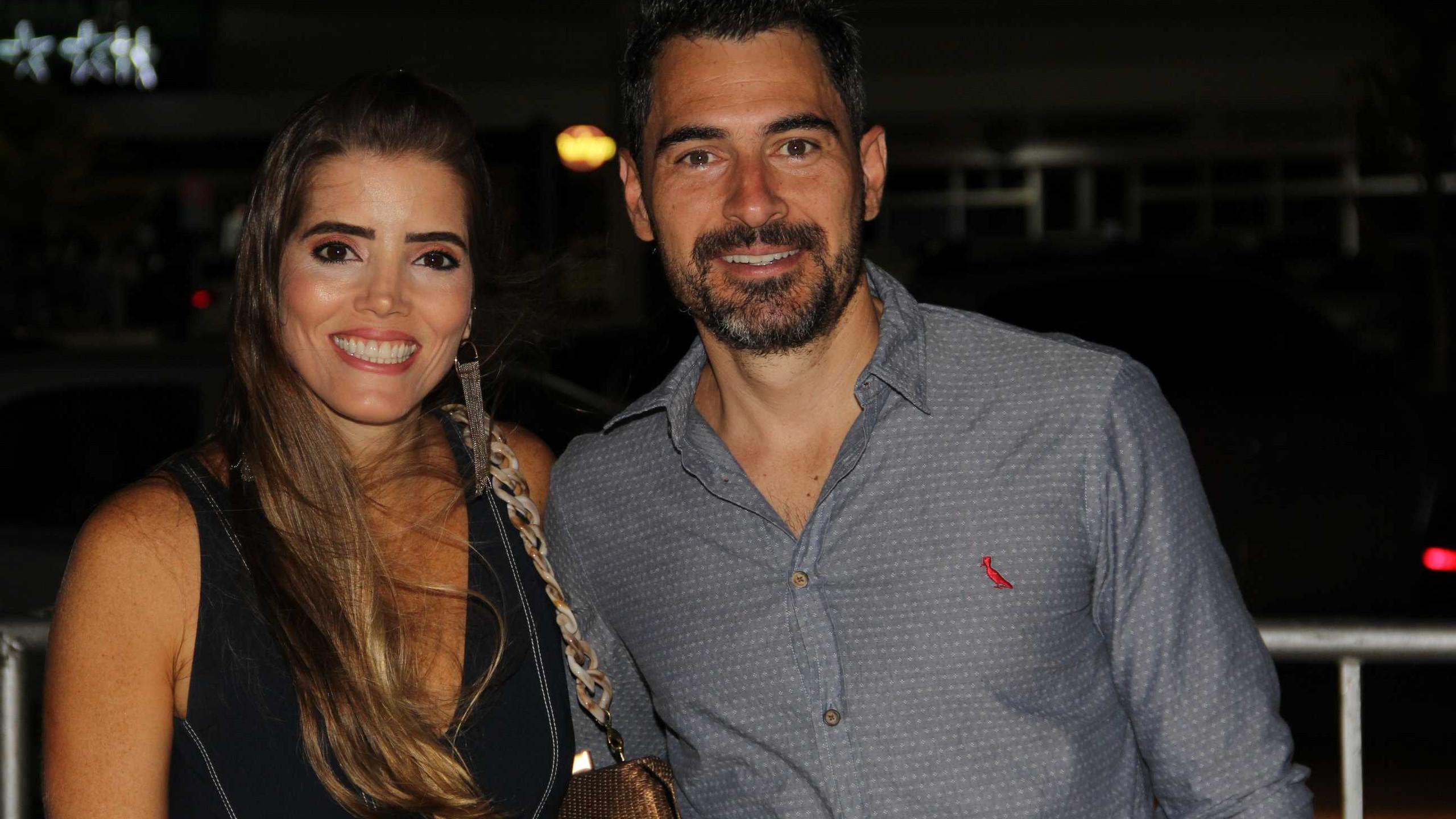 Lia e Bruno Soares.