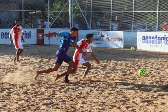 Beach Soccer: Pedreiras, Trizidela e Lima Campos vencem na abertura da 4ª etapa