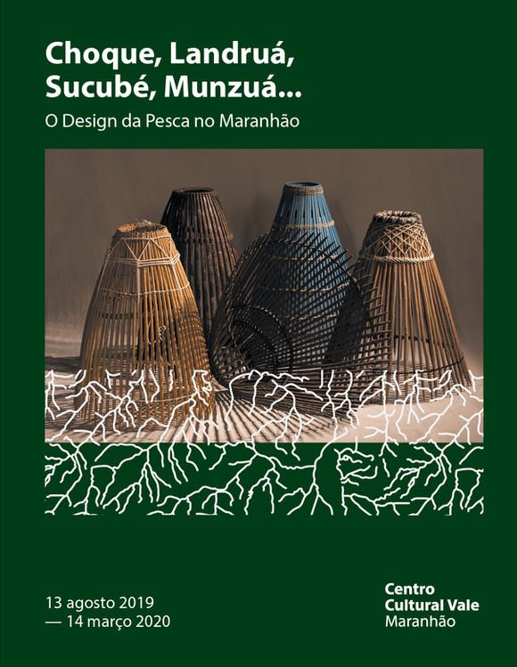 Catálogo da Exposição O Design da Pesca no Maranhão disponível pelo Selo CCVM Digital