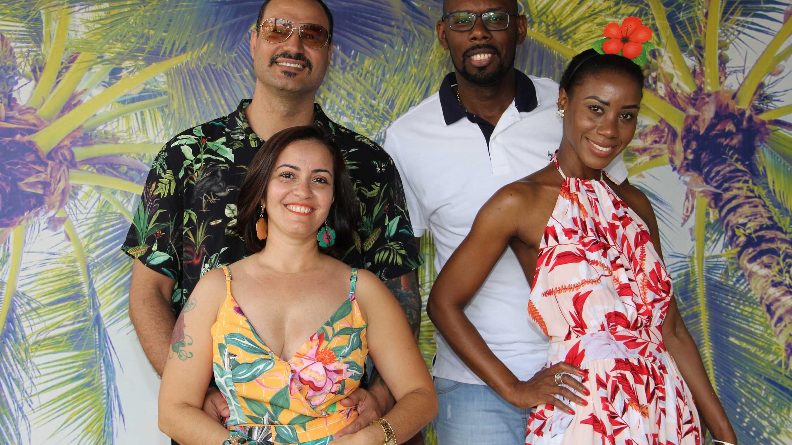 Reinaldo Sousa, Flávia Pessoa, Fábio Silva e Fernanda Oliveira.