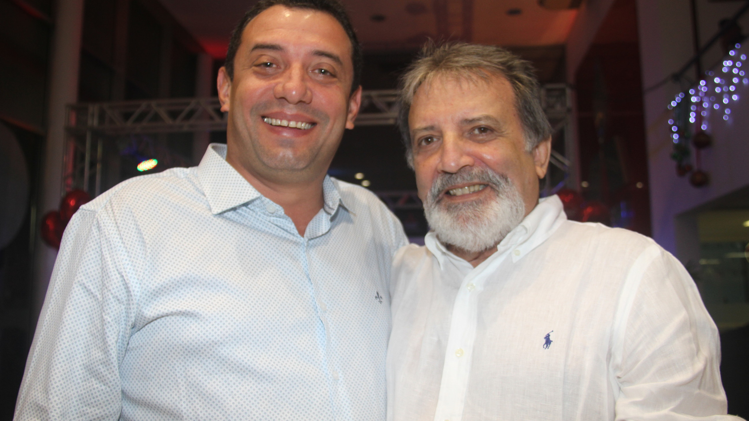 Rafael Dias (NewStar) com o pai Manoel Dias.