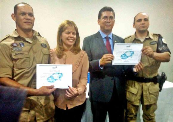 DETRAN-MA entrega de certificados do curso de Identificação Veicular e Documental