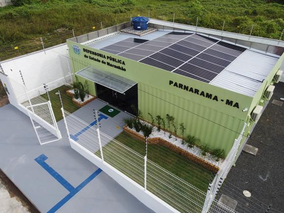 Defensoria Pública chega a 47 comarcas com a entrega, em Parnarama, do 10º econúcleo do estado