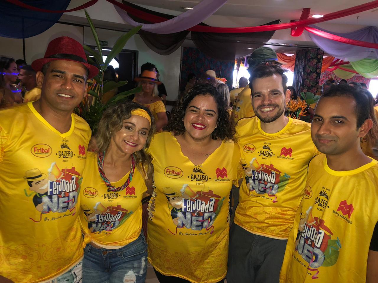 Equipe Potiguar: Elenilson Santos, Nilde Moraes, Thaylana Sousa, Rafael Maciel, Marcelo Silva.