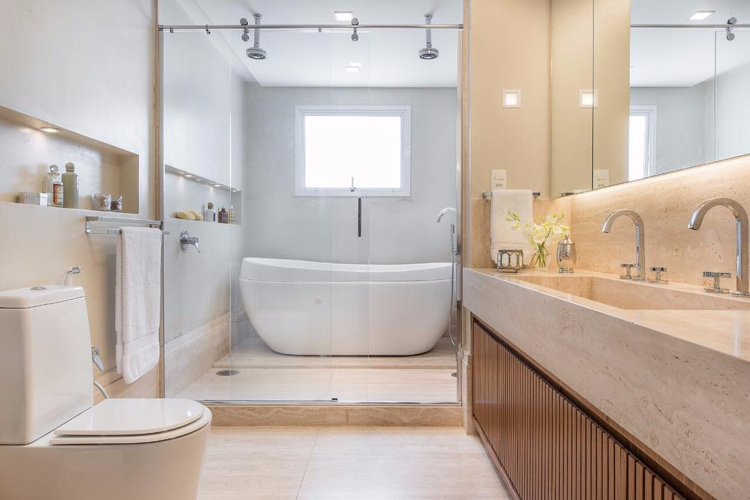 Quem sonha em dar uma modernizada no seu banheiro, deve aproveitar até o dia 20.11 as ofertas do Festival Potiguar de Banheiro & Cozinha.