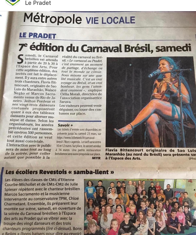 A mídia e a crítica europeias têm recebido com muita aceitação o trabalho da cantora maranhense Flávia Bittencourt.