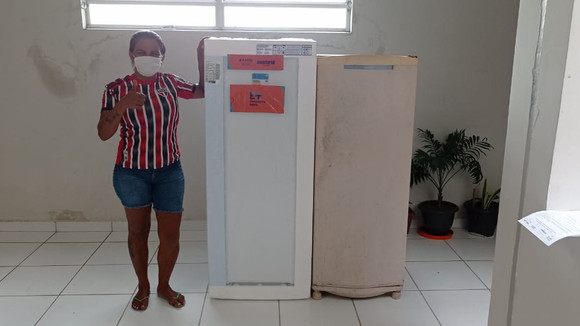 Residencial José das Chagas: DPE e Equatorial realizam troca de geladeiras para 31 famílias
