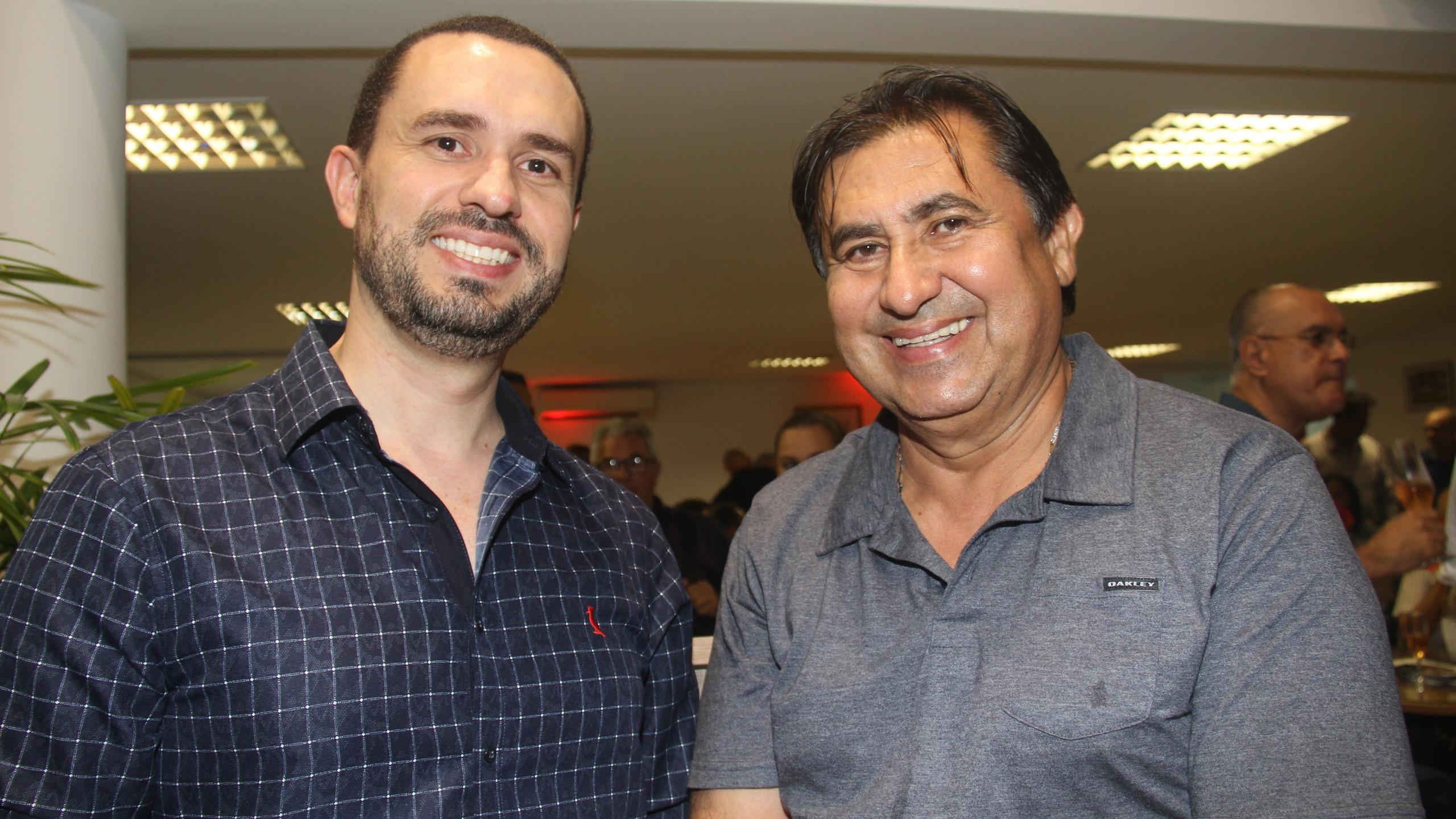 Roberto Fontoura e Ubaldo Silva.