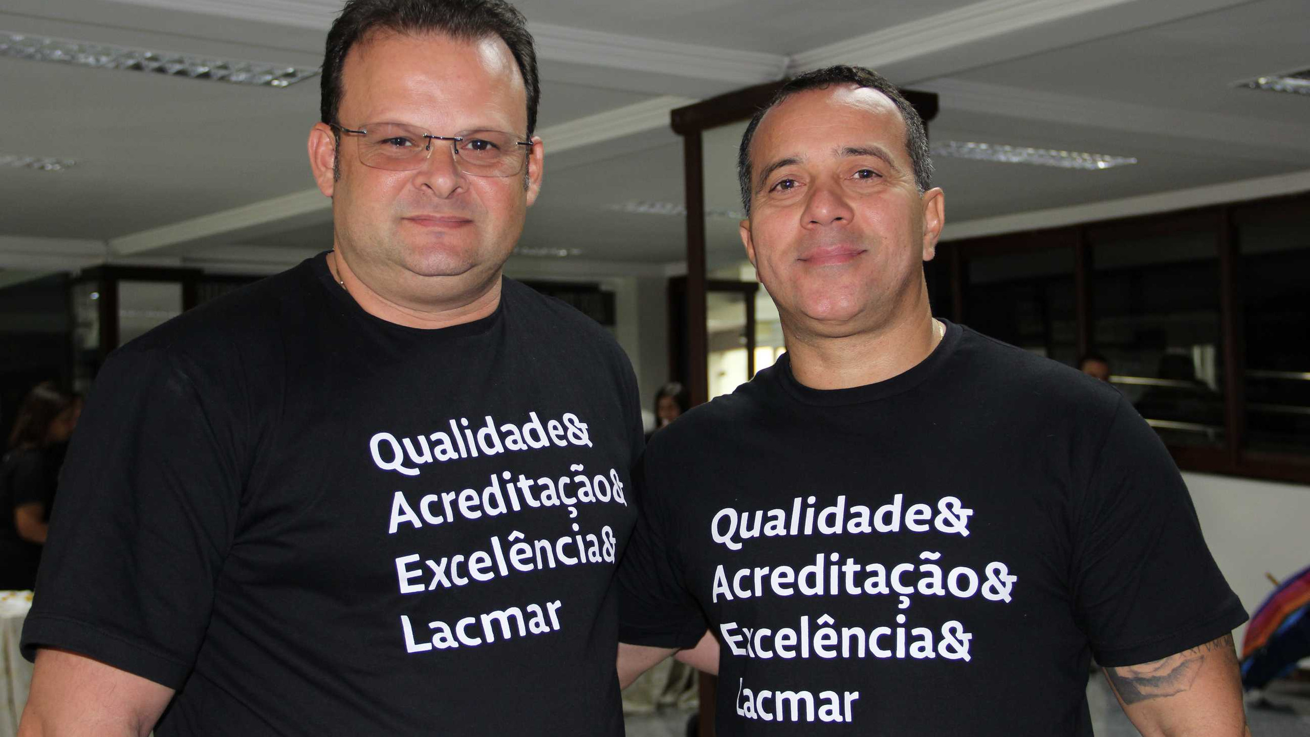 Fabiano Muniz e Nixon Luna.