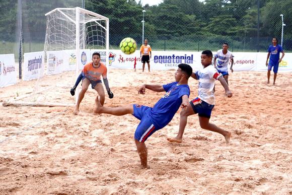 Maranhense de Beach Soccer chega à cidade de Santa Inês