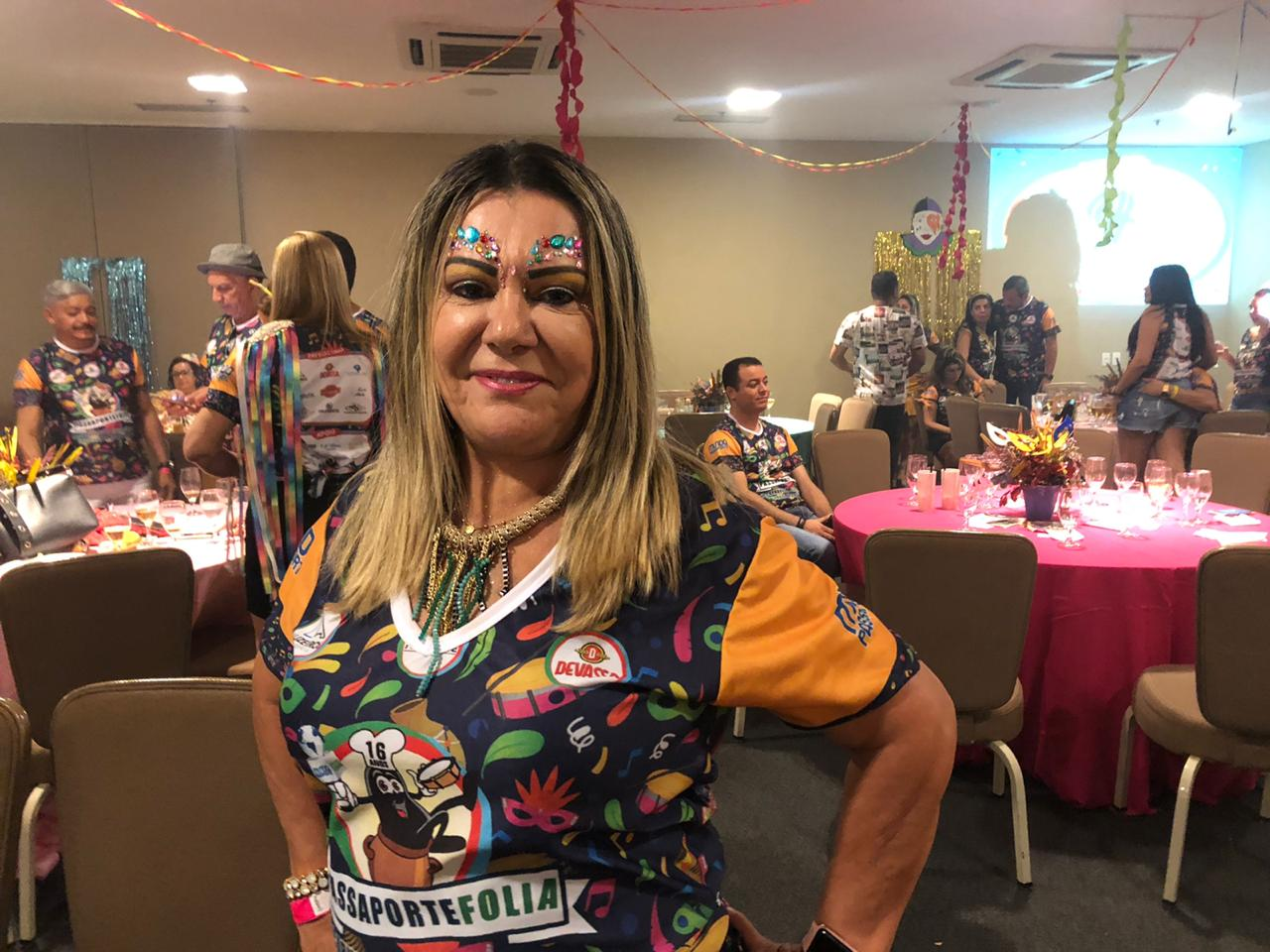 Fátima Parga da Malharia Vitória.