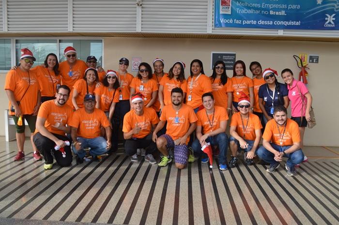Equipe do Energia do Bem, grupo de Voluntariado da Cemar