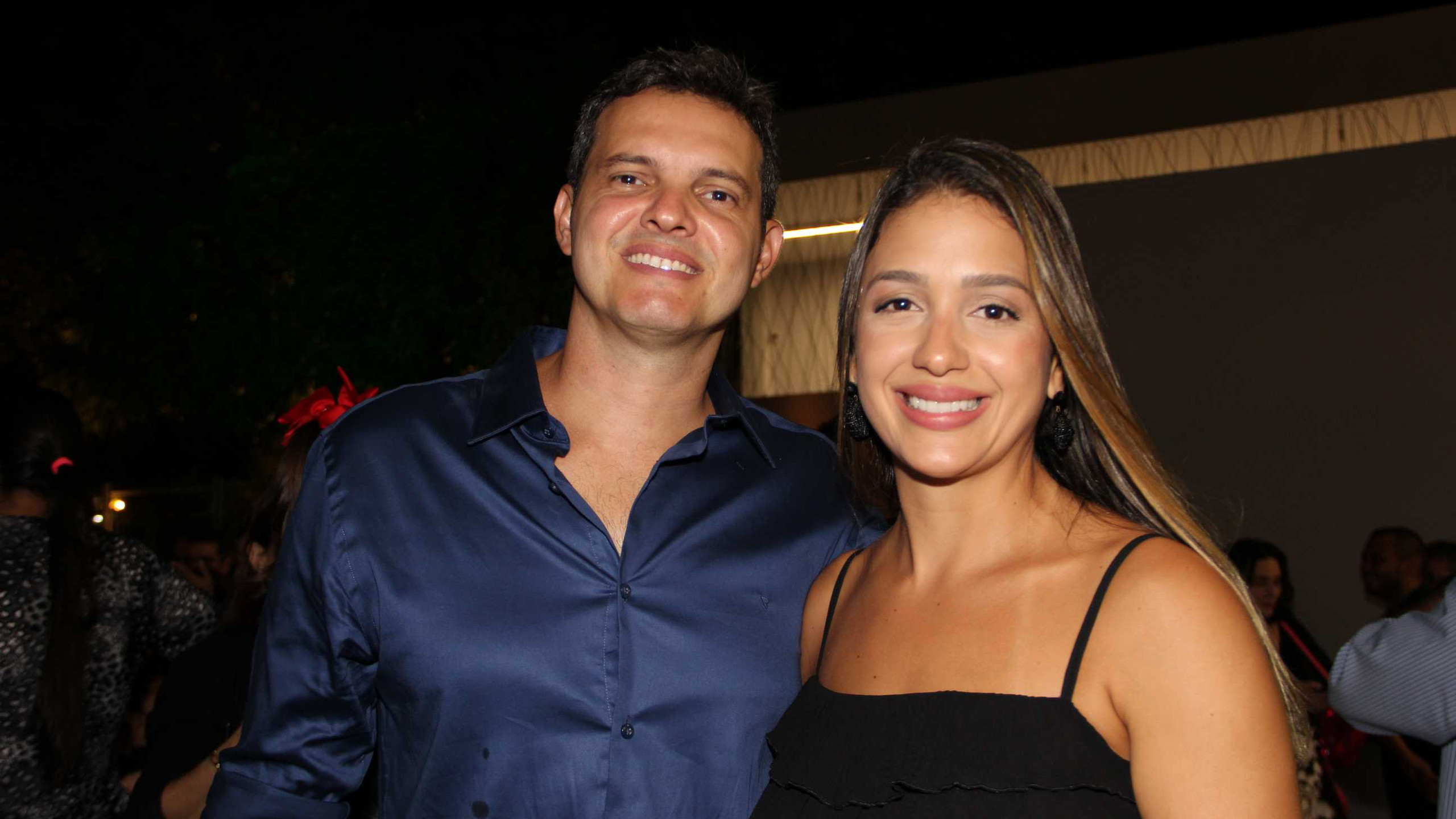Guilherme Lauande e Klarissa Serra.