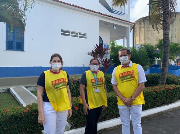 ENCERRAMENTO ANTECIPADO DO BAZAR SOLIDÁRIO DE IMPORTADOS NA SEDE DA APAE