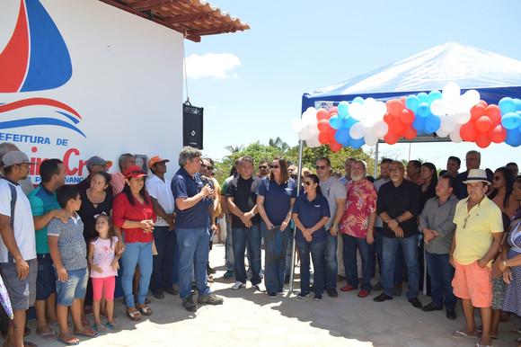 Povoado de Cassó, em Primeira Cruz, recebe nova rede de distribuição de energia da Cemar