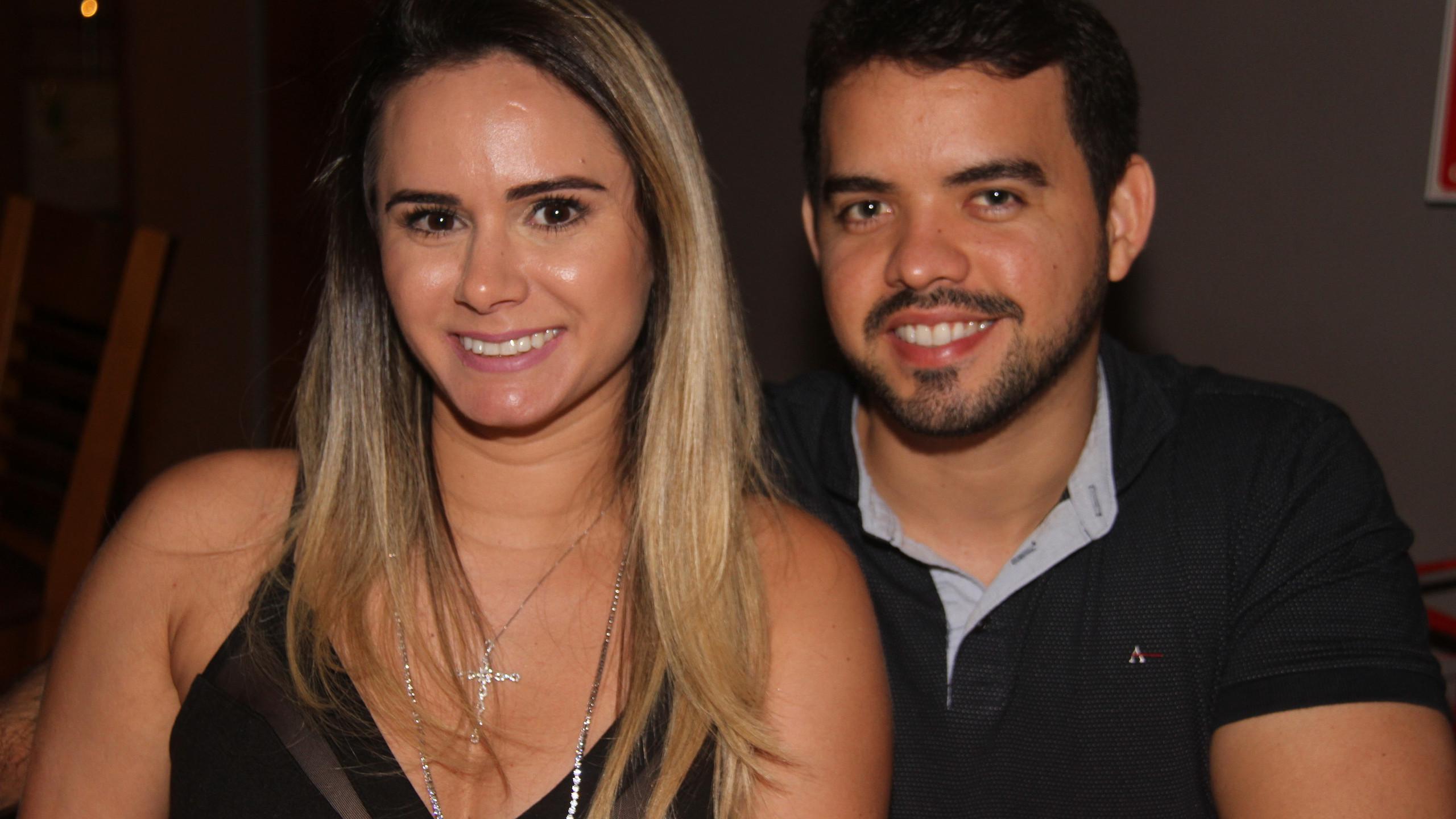 Natasha Andrade e Fred Sales.