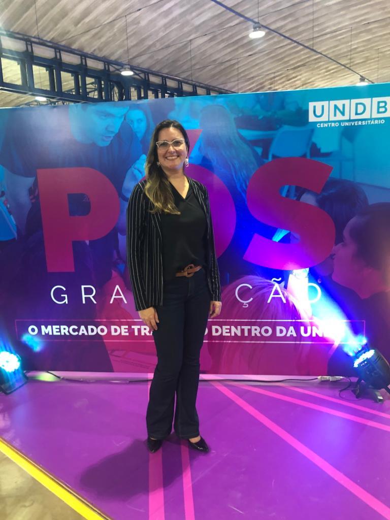 A Diretora Acadêmica da UNDB Graciana Cordeiro.