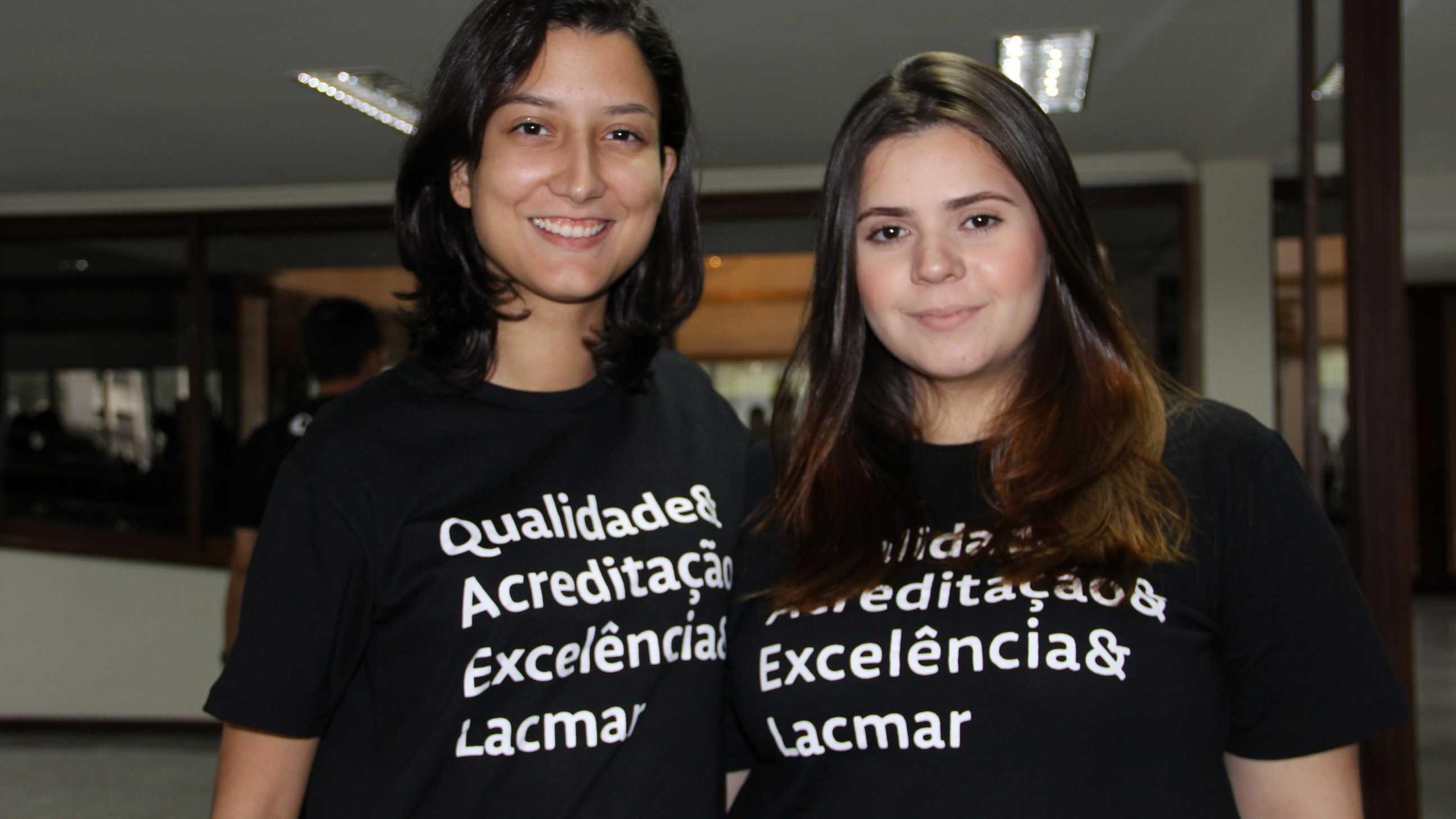 Luzimar de Araújo e Hellen Sampaio.
