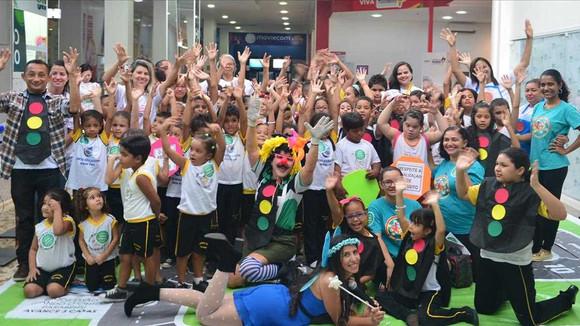 Detran-MA realiza atividade educativa com crianças no Cohatrac