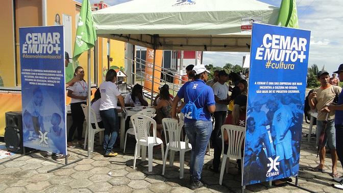 Mais uma vez a Cemar participa da Ação Global, levando informações, ações educativas e serviços gratuitos para a comunidade maranhense.