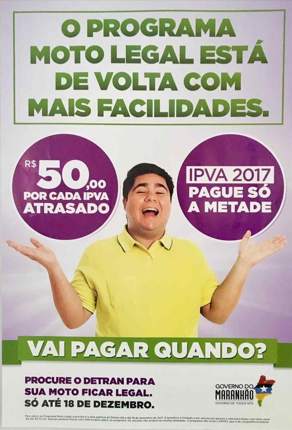 Oportunidade única : Moto Legal oferece descontos para proprietários de motocicletas do Maranhão