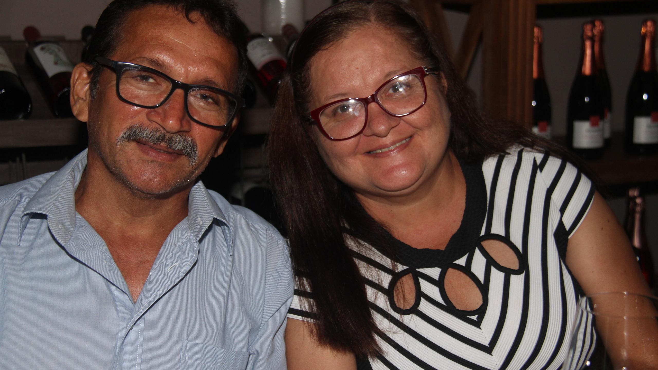 Antônio Paiva e Hulda Soares.