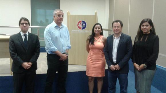 MPE/MA recebe representantes da Cemar em Imperatriz