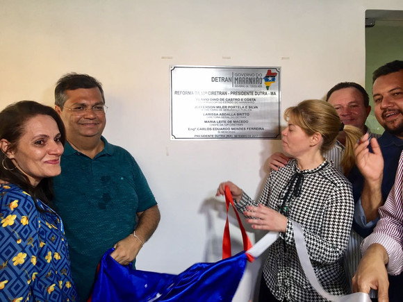 Governador Flávio Dino inaugura 12º Ciretran de Presidente Dutra