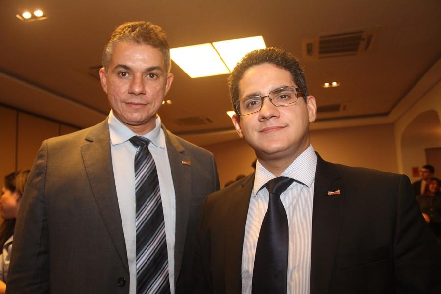 Armando Serejo e Isaac Mousinho.