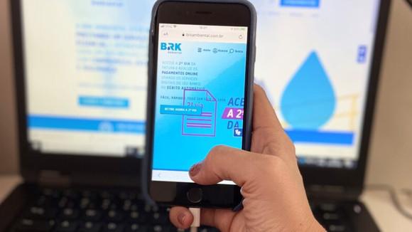 Feirão Virtual de Negociação auxilia clientes da BRK Ambiental