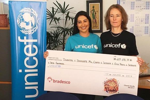 São João da Thay arrecada R$ 217 mil para UNICEF