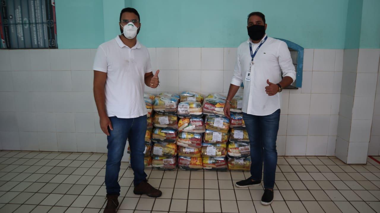 O Asilo de Mendicidade recebeu cestas básicas.