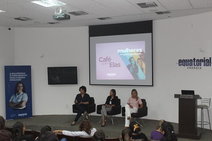 Josy Dominici, Stephanie Machado e Denise Amorim