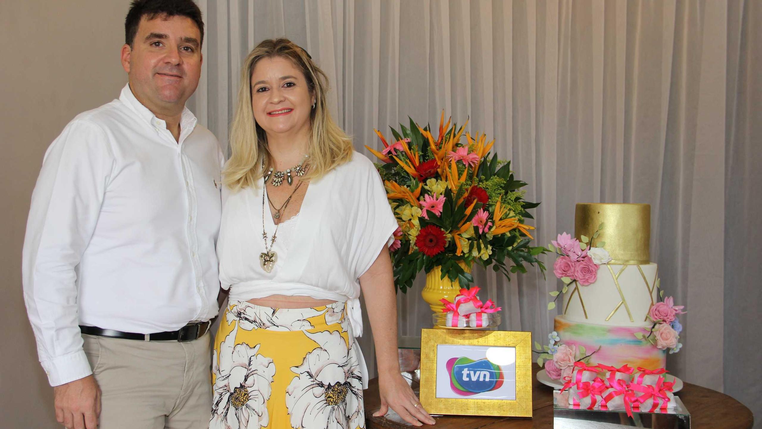 Os Diretores TVN Augusto e Karla Diniz.