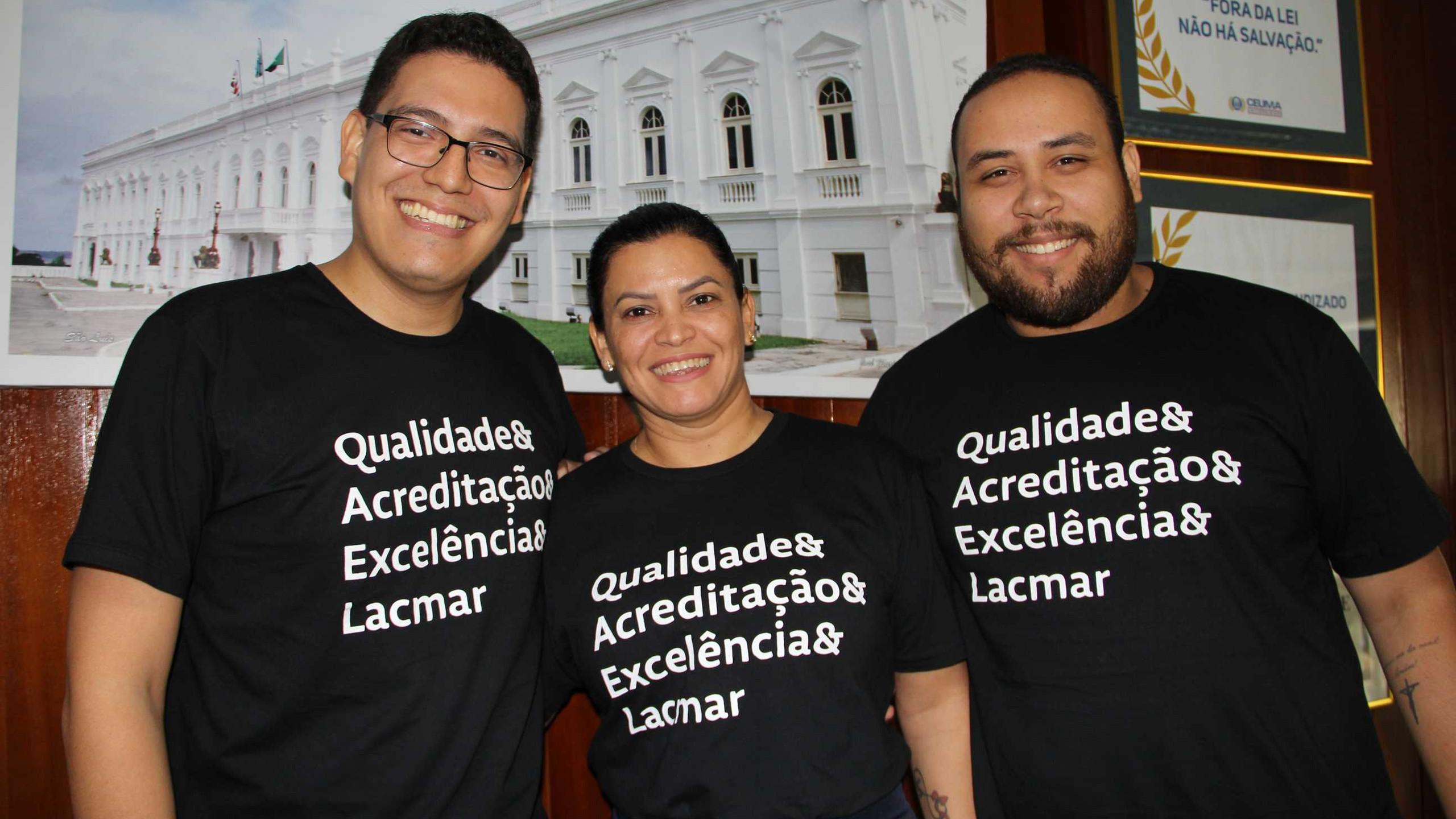 Rodrigo Bennetton, Josiane Almeida e Gilmar Lemos.