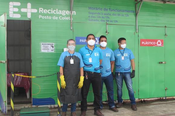 Equatorial Maranhão informa sobre funcionamento dos Postos E+ Reciclagem no dia 1º de maio