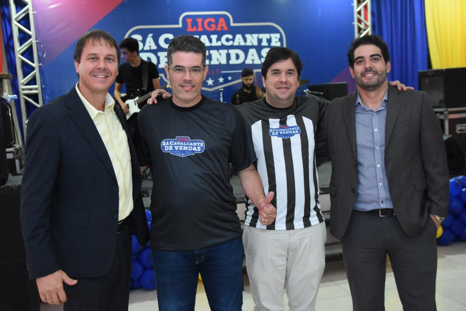 Maicolino Rodighero (Superintendente Regional do Banco do Brasil), Otacilio Alexandre (Superintendente Regional da Sá Cavalcante), Diego Freire (Gerente de Marketing e Vendas Sá