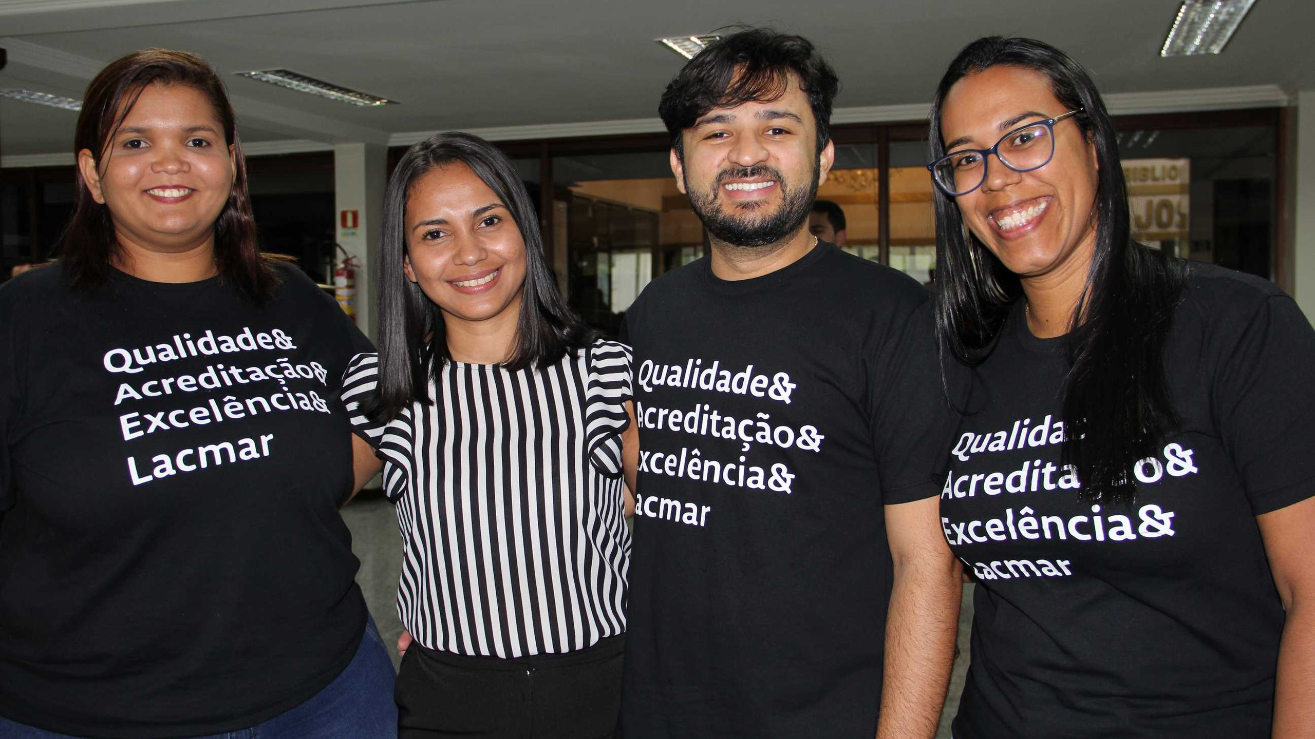 Francilea Rodrigues, Juliana Mendonça, Kaique Oliveira e Sâmia França.