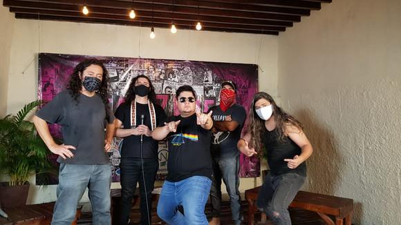 Bandas maranhenses de rock deram show em live festival da TV Guará