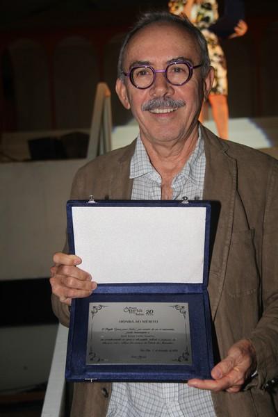 José Jorge Soares, Diretor da Cemar, empresa patrocinadora do projeto Ópera para Todos.