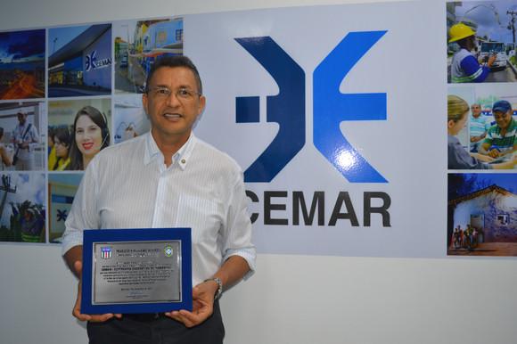 Cemar recebe reconhecimento da Federação Maranhense de Futebol
