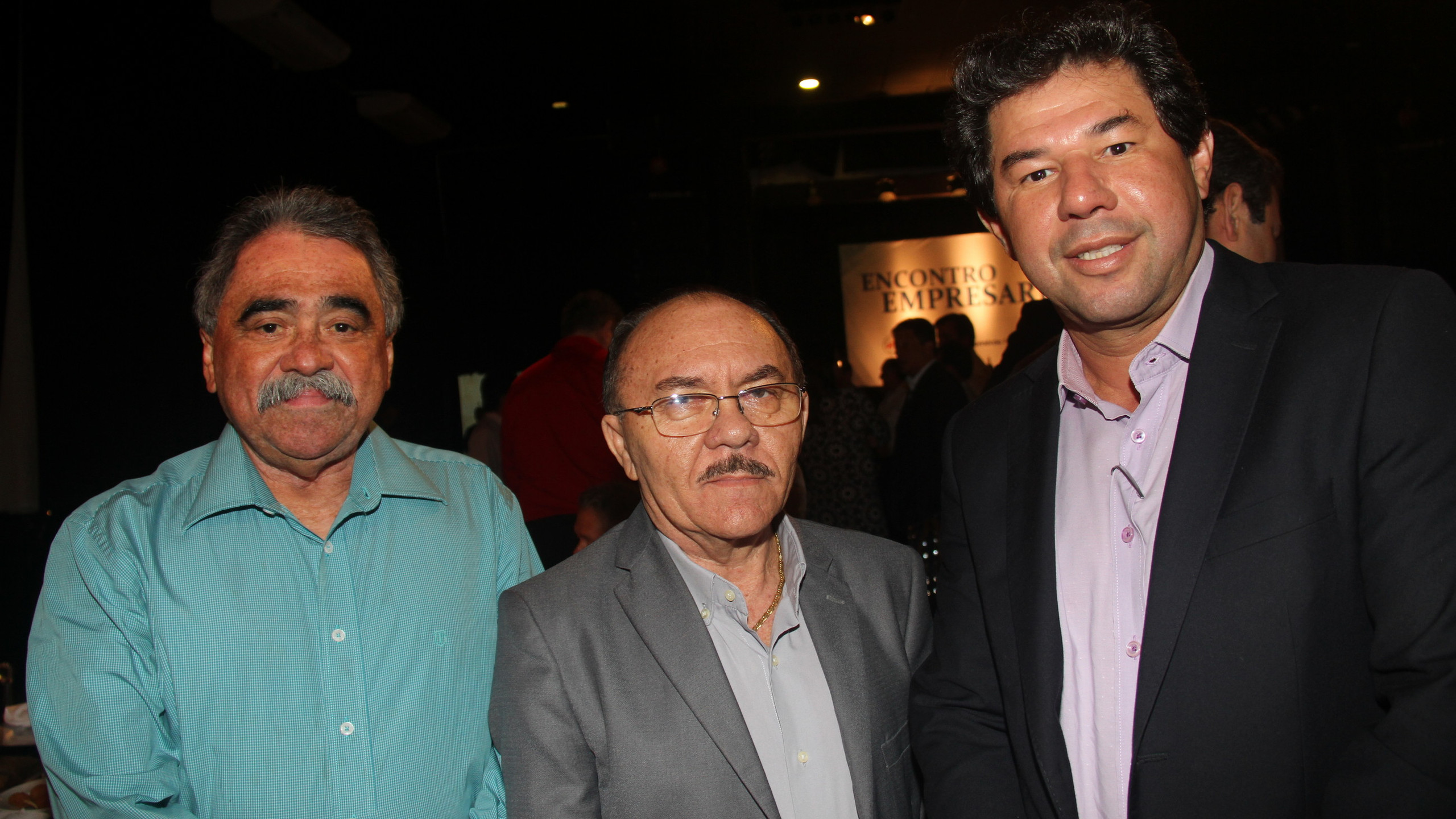 José Airthon Batista, Maurício Feijó e Armando Ferreira.