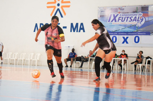 Adulto Feminino movimenta fim de semana de futsal em São Luís